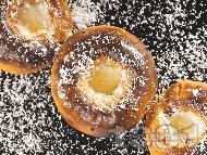 Печени райски ябълки със сметана